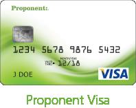 Proponent Visa